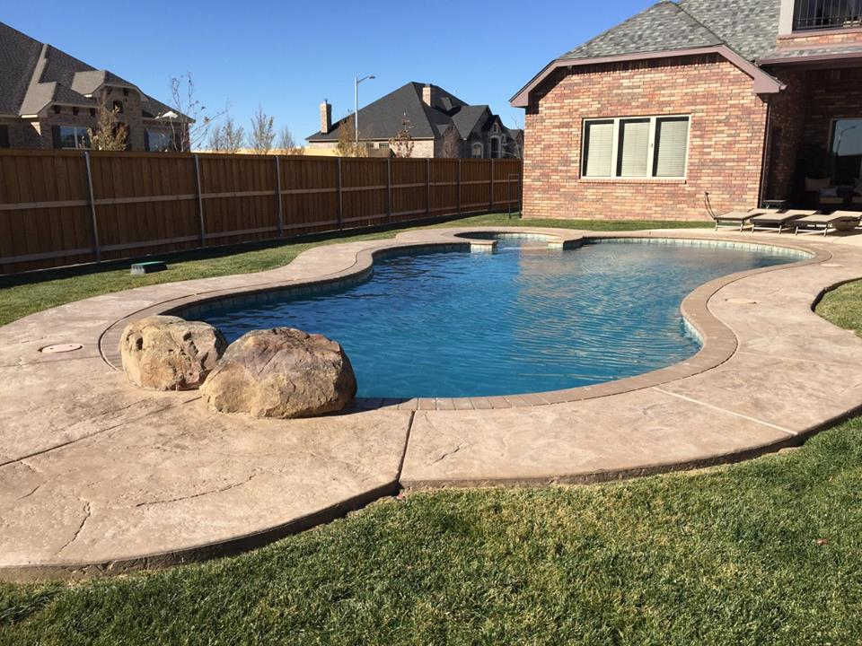 Swimming Pool in Canyon, TX - Out-Back Pool & Spa