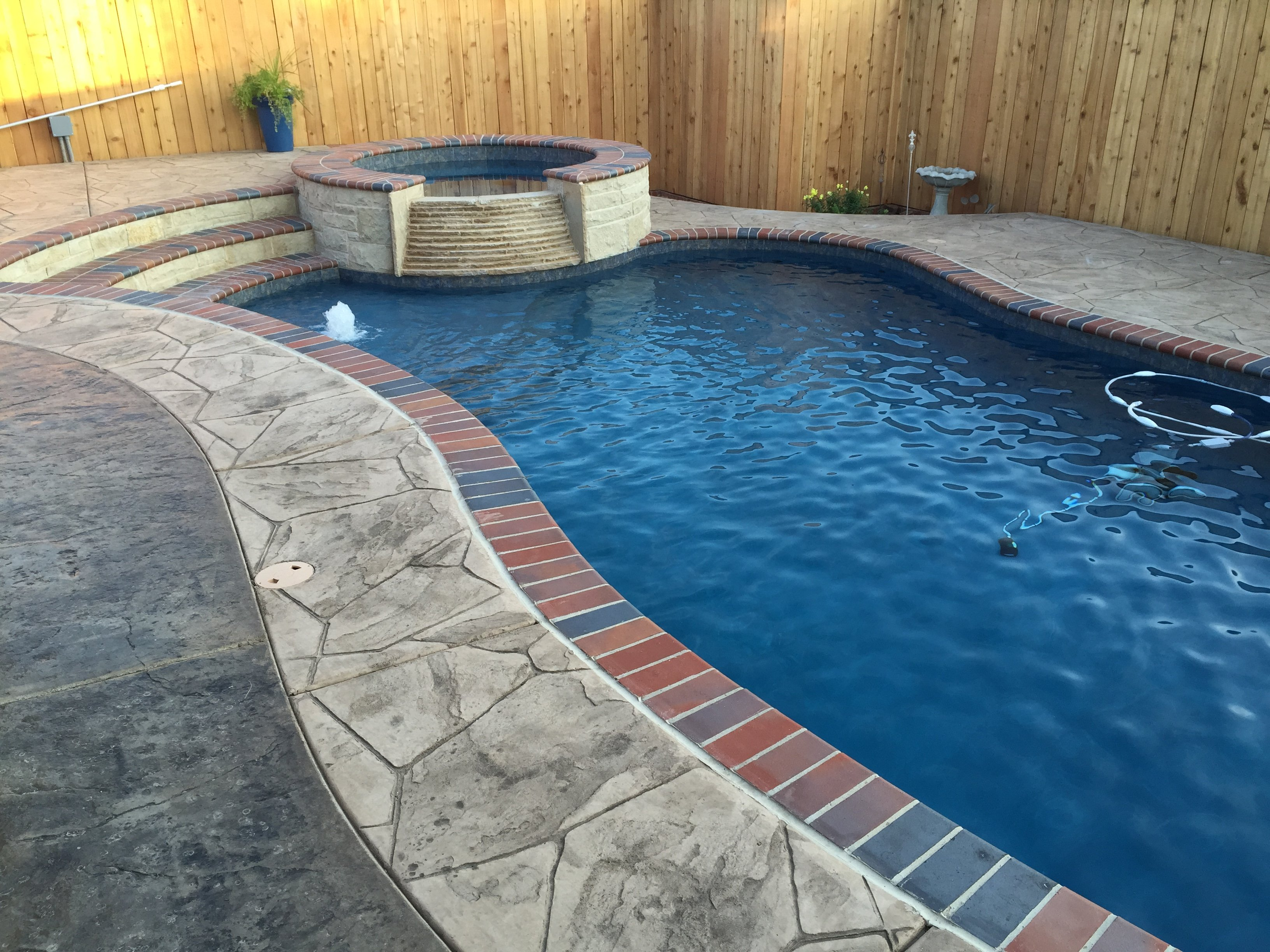 Residential Inground Pool in Lubbock, TX - Out-Back Pool & Spa