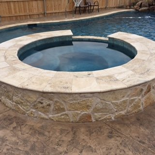 Completed Residential Pool Project in Canyon, TX - Out-Back Pool & Spa