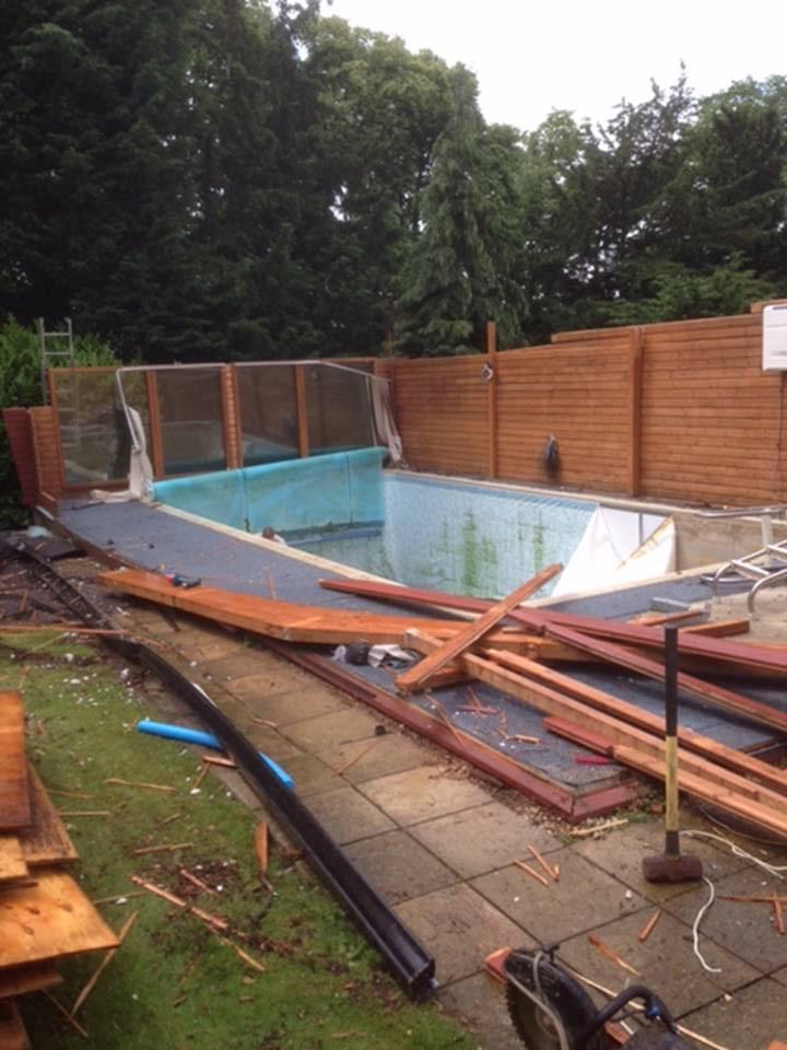 Swimming Pool Destruction In And Around Hemel Hempstead