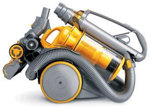 A compact Dyson vacuum cleaner
