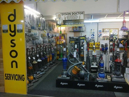 Some of our Dyson stock in our store