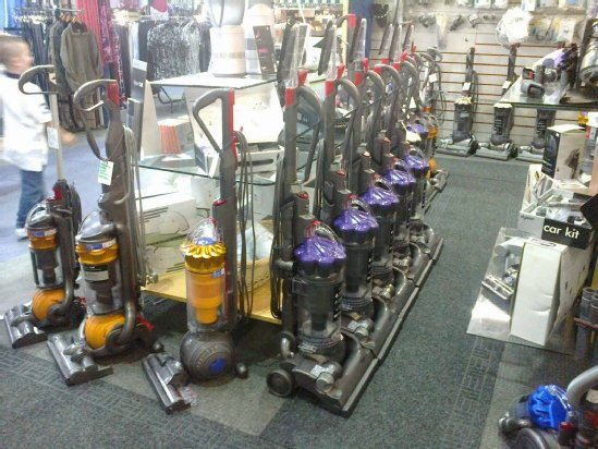A wide selection of Dyson vacuum cleaners