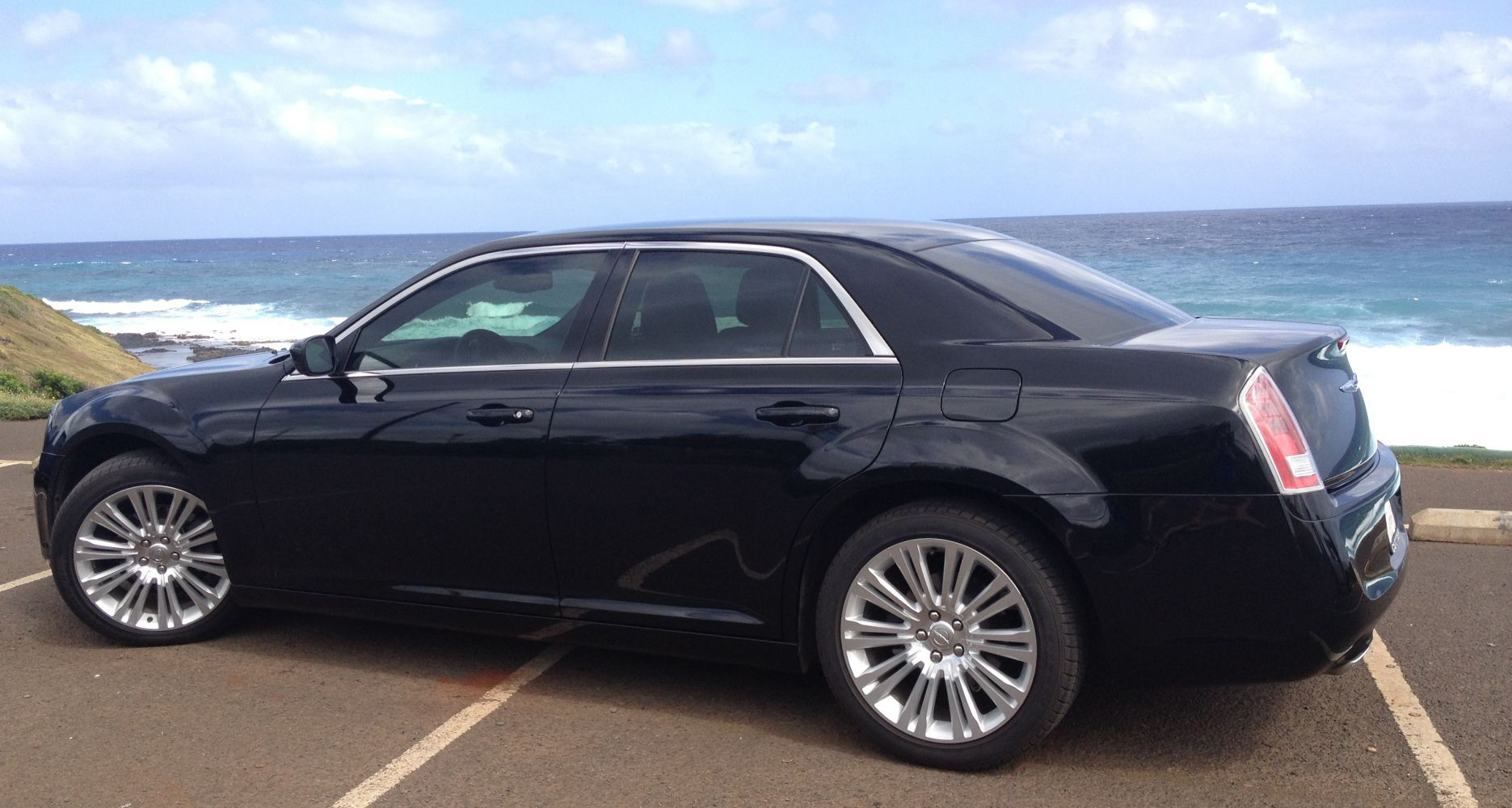 Premium luxury car service in Kauai's  Hi