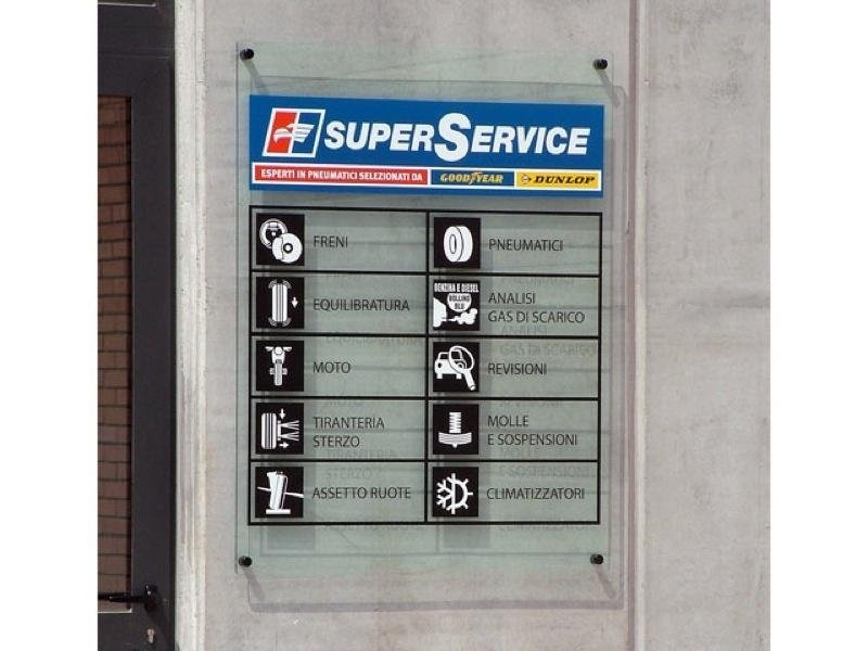 cartellone superservice