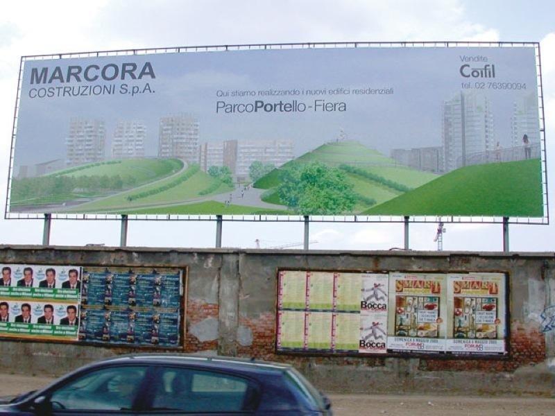 cartellone costruzioni edili