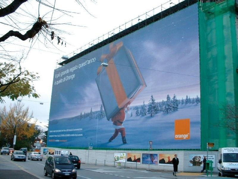 affissione orange