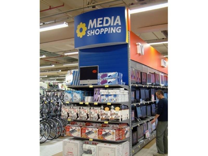 Allestimenti per media shopping