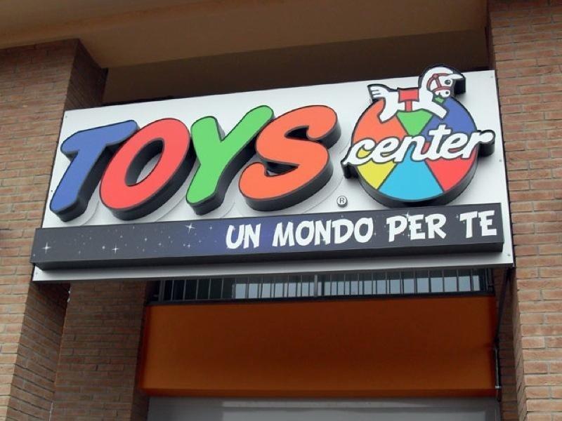 insegna franchising toys center