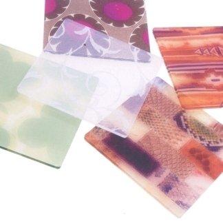 lastre monocolate con tessuti