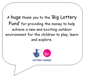 Lottery fund Website Advert