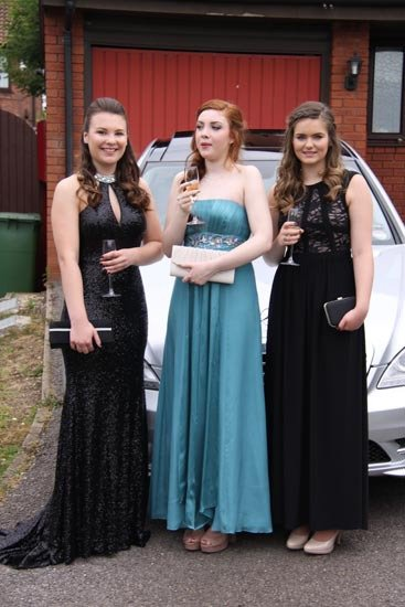 Beautiful ladies in stylish dress