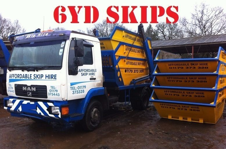 all sized commercial skips