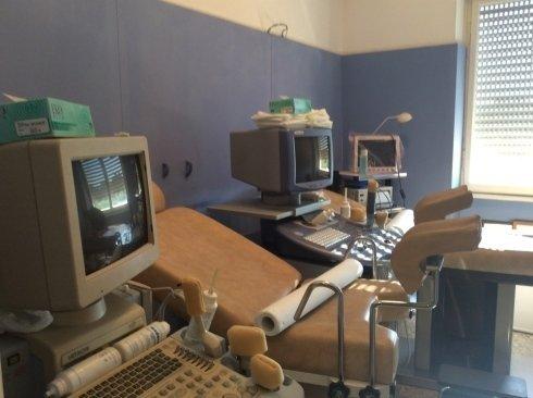 La sala visite ginecologiche