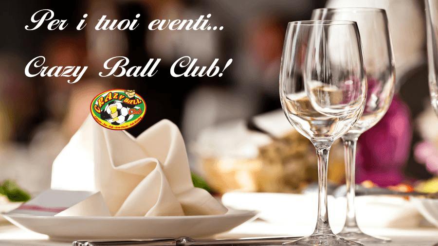 volantino promozionale eventi e ricevimenti
