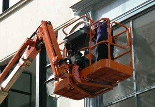 pulizia vetrate esterne