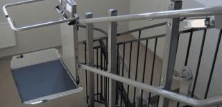 installazione servo scala