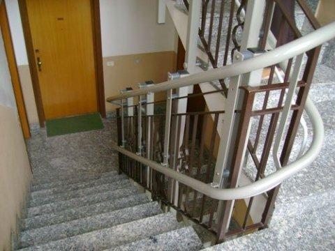 montaggio servo scale