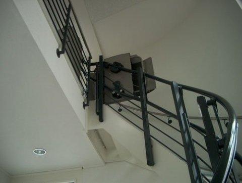 installazione servo scale