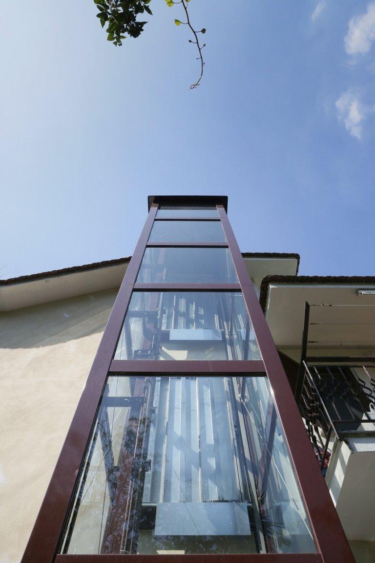 ascensore esterno condominio