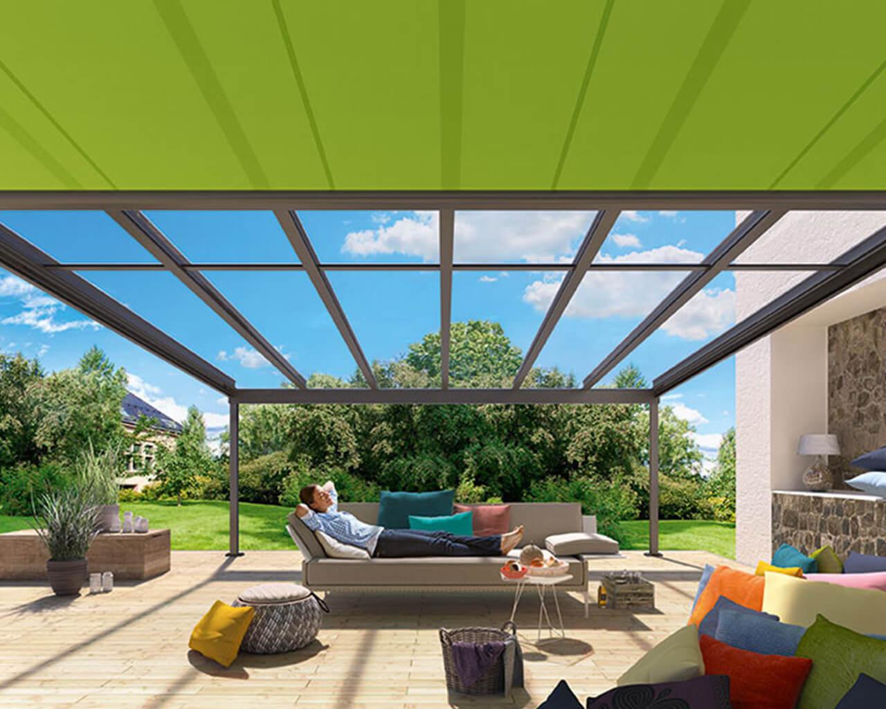 Glass verandas inside view 1