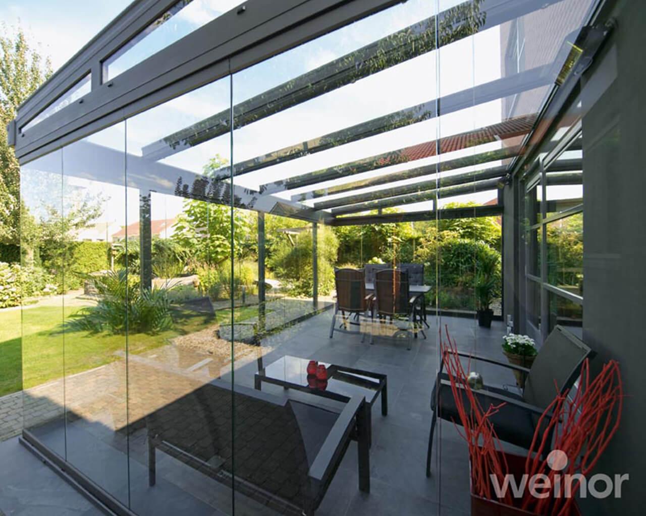 Glass verandas outside view 1
