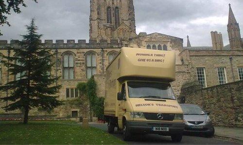 Nelsons of Durham van