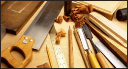 costruzione arredi legno
