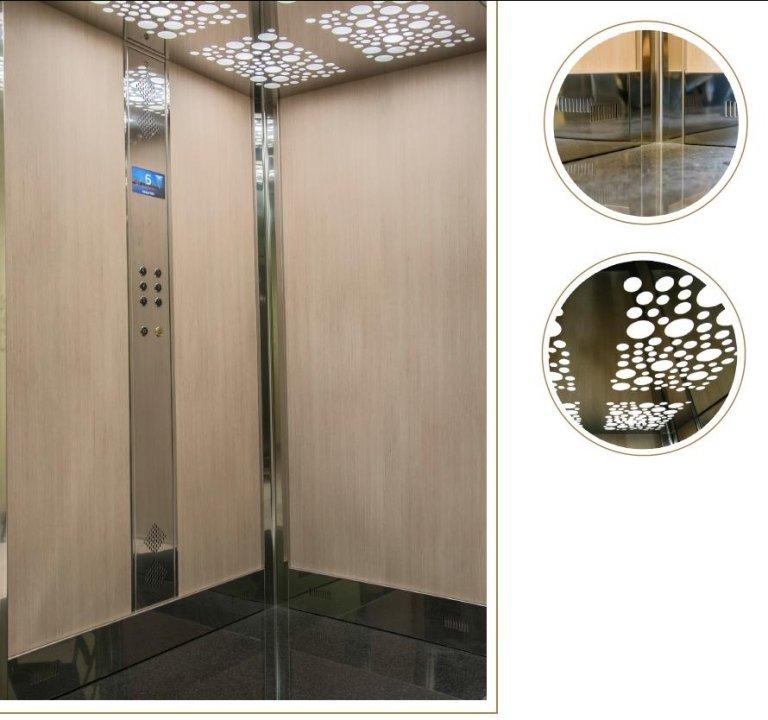 strumentazione interna ascensore