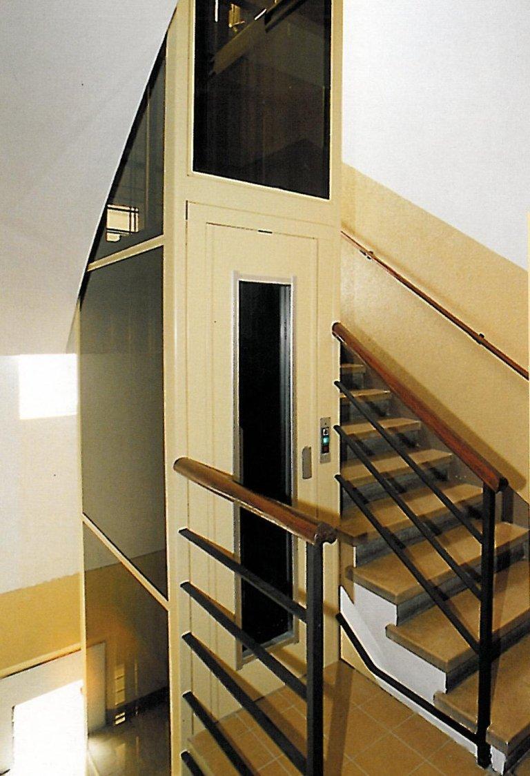 strutture interne per ascensori