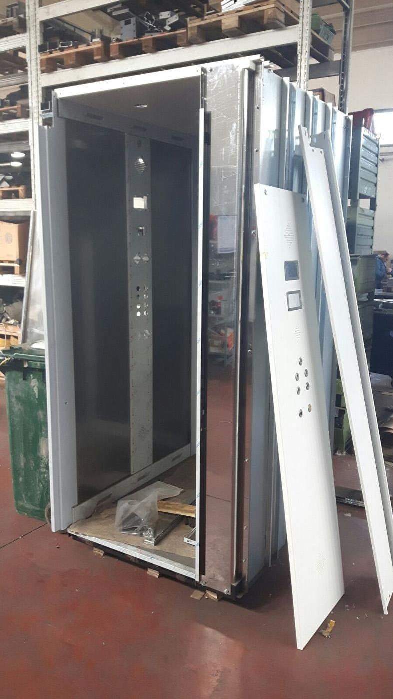 Realizzazione cabine ascensore