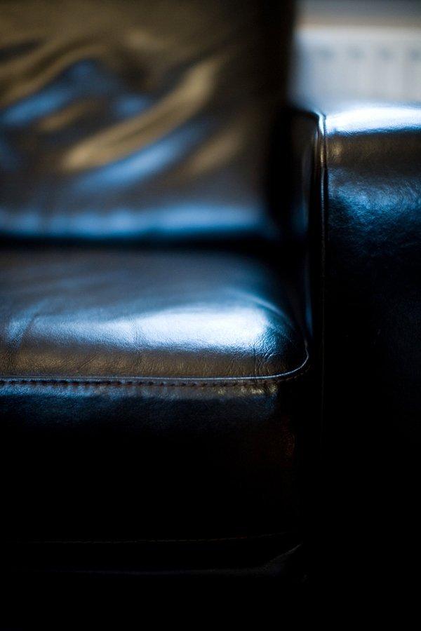 seat corner closeup