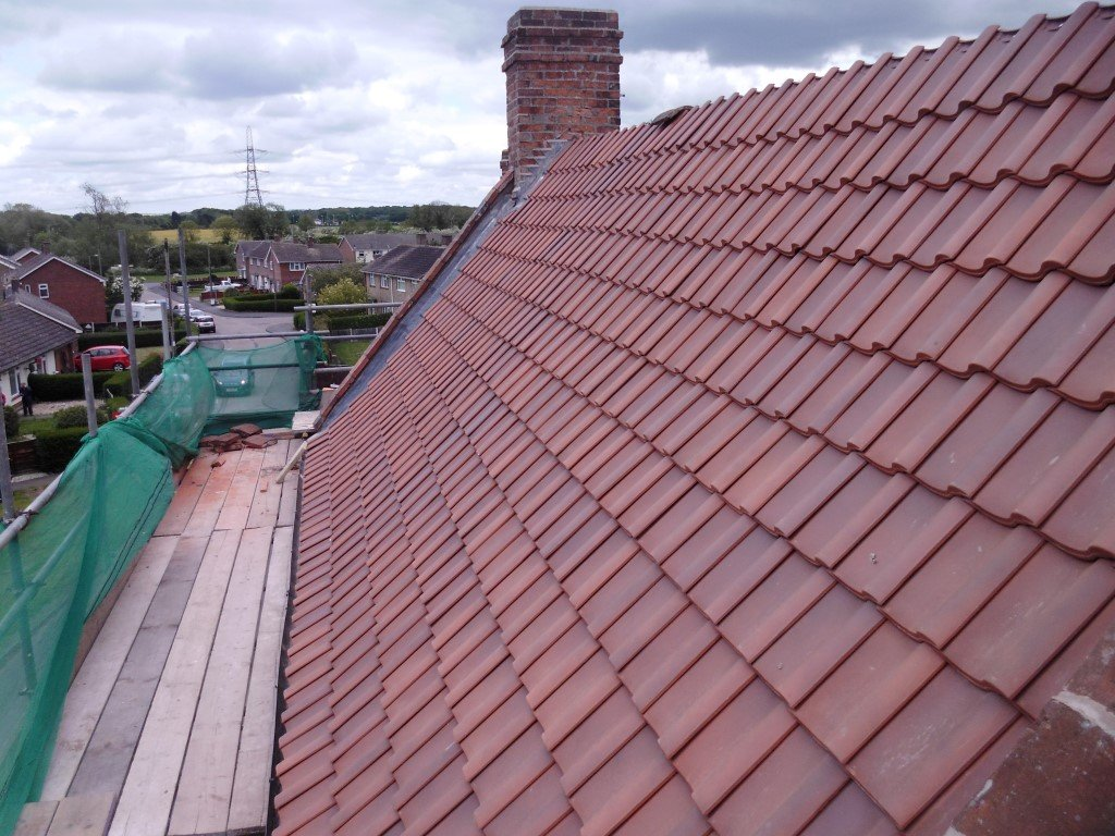 new tile roofing