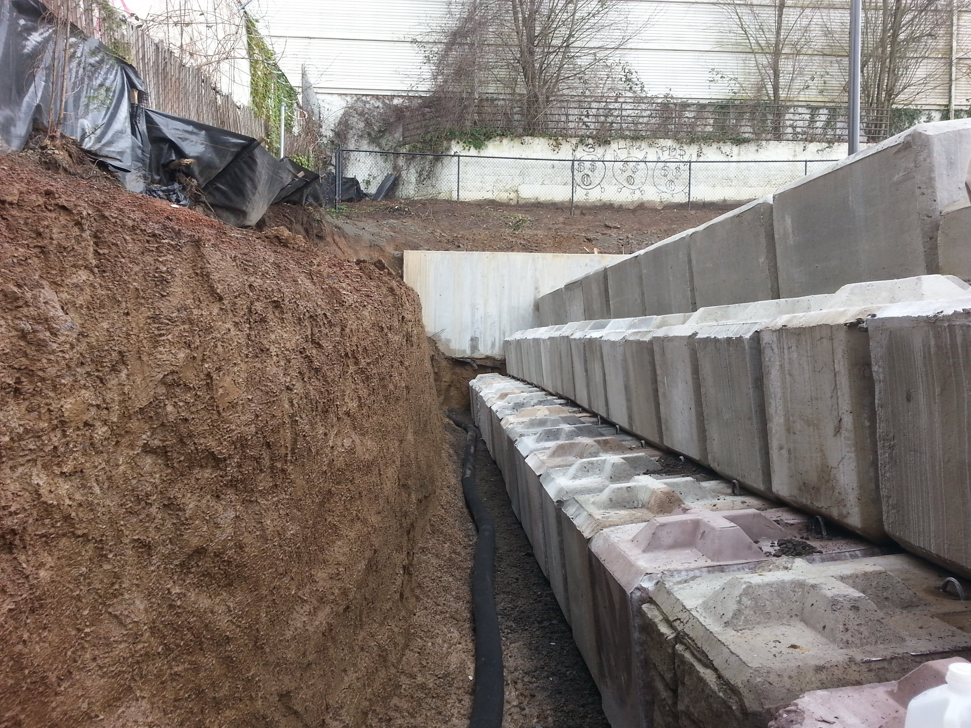 Locally owned and operated soil stabilization construction for Soil support
