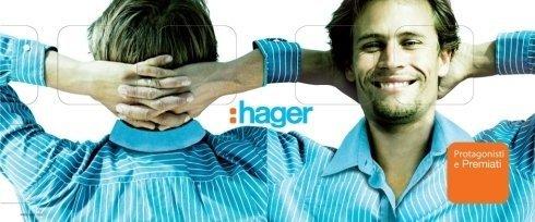 Per Hager, OP-PROJECT ha curato la promozione Protagonisti e Premiati