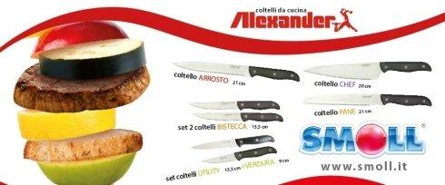 OP-PROJECT ha curato la promozione Collezione Coltelli di Alexander