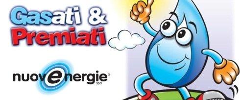 Gasati&Premiati è la promozione ideata da OP-PROJECT per Nuove Energie.