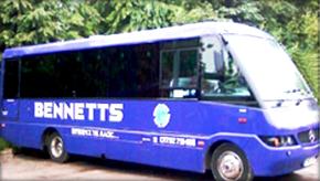 Coach hire - Cotes Heath, Stafford - Bennett's Travel - Coach travel