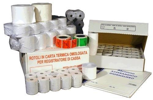 Rotoli per registratore di cassa