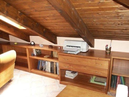 Libreria in legno, libreria a vista, libreria su misura