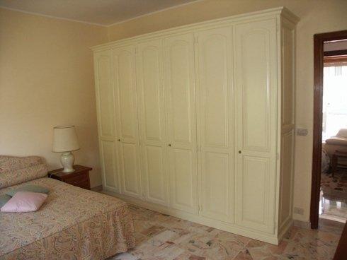 Armadio bianco, armadio a parete, armadio 4 stagioni