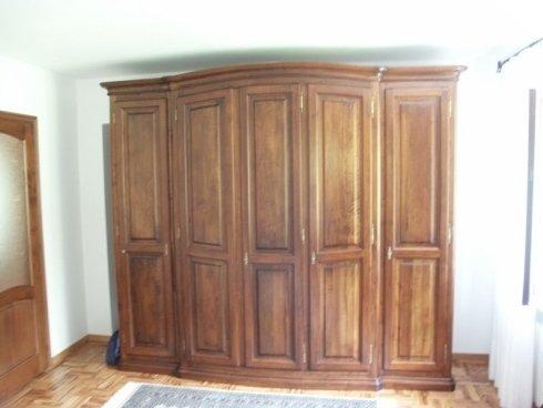 Armadio su misura, armadio legno massiccio, armadio