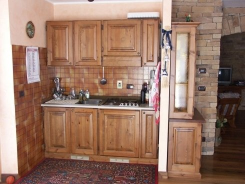Cucina legno massiccio, cucina in legno massello, cucina in legno