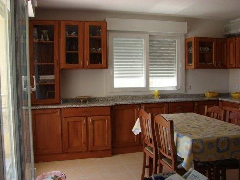 Cucina completa, cucina in legno, cucina con pensili