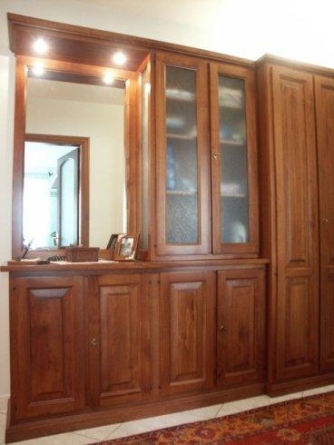 Mobile ingresso, ingresso in legno, mobile ingresso con ante