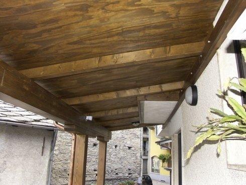 tetti in legno, coperture in legno, legno lamellare