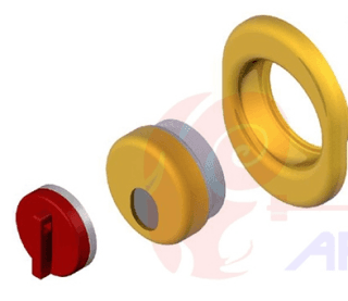 Defender Antitubo e antistrappo Defender antitubo, antistrappo a chiusura magnetica per la protezione dell'entrata della chiave Defender antitubo antistrappo a protezione del cilindro
