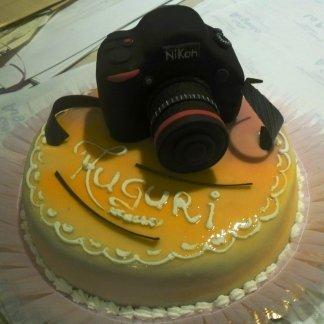 torta a macchina fotografica