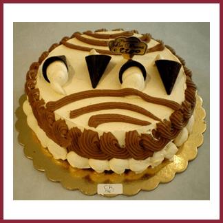 torta con crema e coccolato