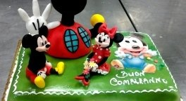 torta personaggio topolino